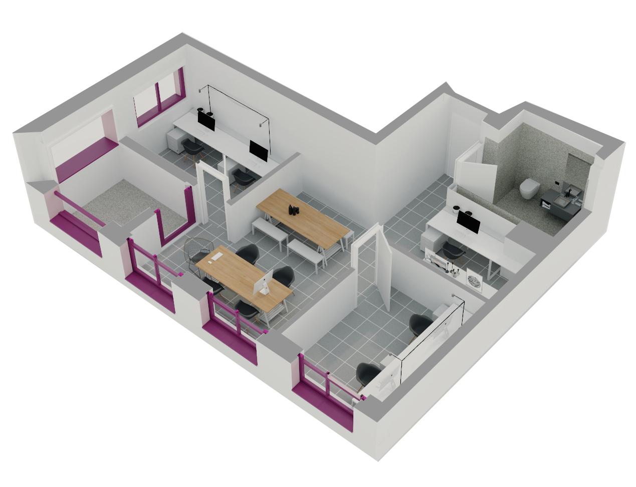 Njësi Shërbimi në shitje në Tiranë - Mangalem 21 Shkalla 7 Kati 1