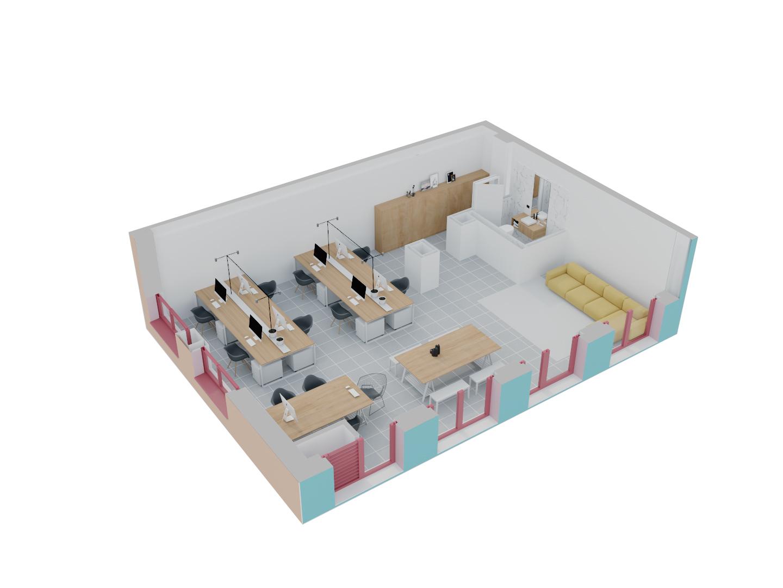 Njësi Shërbimi në shitje në Tiranë - Mangalem 21 Shkalla 14 Kati 1